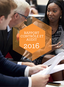 Image de couverture du rapport d'audit 2016