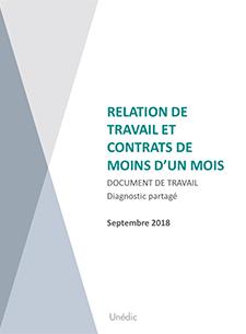 Relations De Travail Et Contrats De Moins D Un Mois Unedic Fr